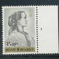 PLANCHES N° 1235-p1, **/MNH, Reines Belges, Marie-Henriette - 1961-1970