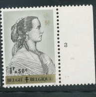 PLANCHES N° 1235-p3, **/MNH, Reines Belges, Marie-Henriette - 1961-1970
