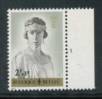 PLANCHES N° 1236-p1, **/MNH, Reines Belges, Elisabeth - 1961-1970