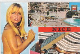 22242 Nice  Souvenir De Nice -Altari 5023 - Pin Up Femme Sein Nu