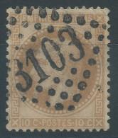 Lot N°24284   N°28B, Oblit GC 3103 REIMS (49) - 1863-1870 Napoleon III With Laurels