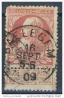 [D3882] N° 74 Belle Obl Relais Baeleghem Nipa +350 - 1905 Thick Beard