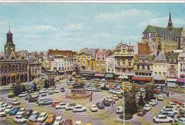 22256 Saint Quentin Aisne France -place Hotel Ville Palais Justice -cim 308790431 Et Mage -voiture Tourrisme Simca Ds - Voitures De Tourisme