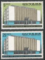 Guyana. 1966 Opening Of Bank Of Guyana. MH Complete Set - Guyana (1966-...)