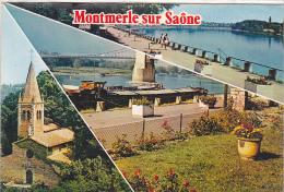 22259 Montmerle Saone -bords Saone Chapelle Minimes -3cp84.6418 Cim - France