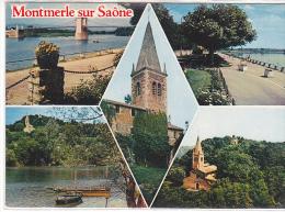 22260 Montmerle Saone -bords Saone Chapelle Minimes -3cp84.6419 Cim Multi Vues Multivues