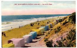 CP, 44, SAINT-BREVIN-L'OCEAN, Vue De La Plage, Vierge, Ed : F. Chapeau - Saint-Brevin-l'Océan