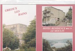 22265 GREOUX LES BAINS - ** L' HOSTELLERIE LE MOULIN ** - Editeur : CARTISAbelle - Gréoux-les-Bains