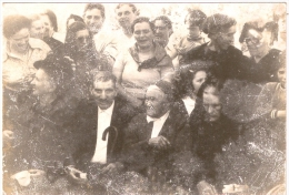 Foto Of Some Persons From Here Aveiro - Portugal (12,5 X 8,5 Cm) - Anonymous Persons