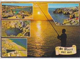 22271 Saint Pierre Sur Mer, Rocher Plage Oeil Doux, Vue Generale Station -éd SL