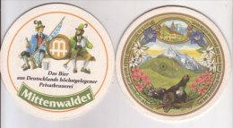 Mittenwald Brauerei Urlaub , Ist Der Frühling Im Land - Sous-bocks