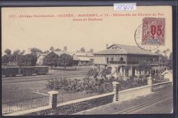 Guinée Française Konakry - Conakry - Bâtiments Du Chemin De Fer - Gare Et Ateliers Wagons - Vers 1912 (12´906) - Guinée Française