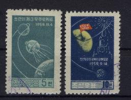 Nord Korea Michel No. 230 - 231 gestempelt used