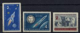 Bulgarien  Michel No. 1231 , 1233 , 1240 gestempelt used