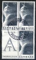 ##Denmark 2003. EUROPE/CEPT. Poster Art. Bloc From Sheetlet. Michel 1342. Used(o) - Gebraucht