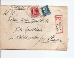Bavière ( LAC  En Recommandé De 1918 Vers Passau à Voir) - Bayern