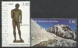 HR 2012-1032-3 EUROPA CEPT, HRVATSKA CROATIA, 1 X 2v, MNH - Europa-CEPT