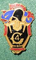 Petit Insigne 4° Génie C.1939 - Army