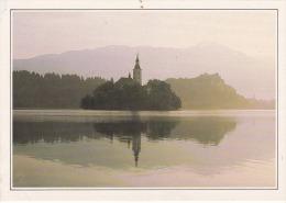 Yugoslavia--Bled--L'Eglise De Sainte Marie Du Lac - Geografía