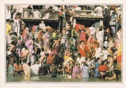 India--Benares--Les Ghats Sur Le Gange - Geografía