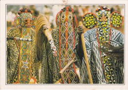 Cameroun--Banjoug--Danseurs Bamilekes, Masques - Geografía