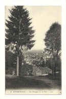 Cp, 88, Remiremont, Une Echappée Sur La Ville - Remiremont