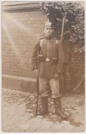 Stettin, Soldat In Pionier-Kaserne 1917,  Echte Fotokarte - War 1914-18