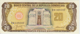 Dominicana 20 Pesos 1987 Pick 120 UNC - Dominicaine