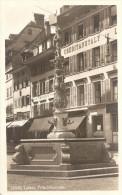 PostkaartZwitserland A89   Luzern Fritschibrunnen - Ohne Zuordnung