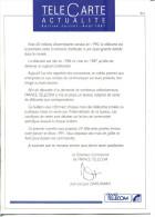 """Lot De 35 Numéros De """"Télécarte Actualité"""" Dont Tous Les  Numéros De 91/92/93 - Tarjetas Telefónicas"""