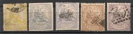 Espagne Espana. 1874. N° 141,143,145,146. Oblit. - Oblitérés