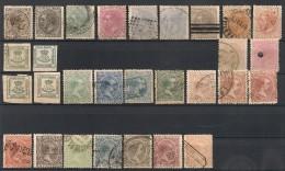 Espagne Espana. 1876-1889. Entre N° 172 Et 208. Oblit. Et Neuf * MH - Oblitérés