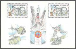 ESPACIO - CHECOSLOVAKIA 1986 - Yvert #H73 - MNH ** - Espacio