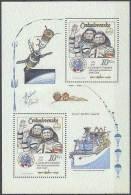 ESPACIO - CHECOSLOVAKIA 1983 - Yvert #H59 - MNH ** - Espacio