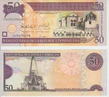 Dominicana 50 Pesos 2008 Pick 176 UNC - Dominicaine