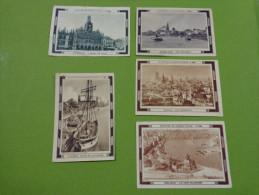 Lot 5 Images Menier N°322 St Quentin-32 Londres-552  Dusseldorf-578 Munich -< -548 Coblence - Non Classés