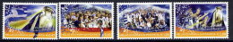 GREECE 2004 European Football Championships Win Set Of 4 MNH / **.  Michel 2230-33 - Unused Stamps