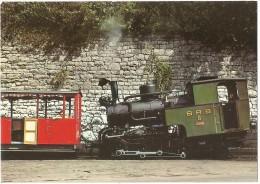 TRAIN (À CRÉMAILLÈRE) - EISENBAHN Schweiz (Suisse) - BRIENZ - Rothorn-Bahn - Locomotive à Vapeur BRB 6 - Vitznau-Rigi - Trains