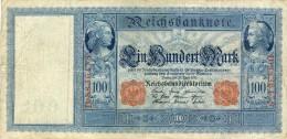 Pick 43 - Ro 44a - 100 Mark 1910 - 50 Reichsmark
