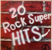 * LP *  20 ROCK SUPER HITS (USA 1973) - Compilaties