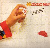 * LP *  DRUKWERK - NIEMAND WINT (Holland 1983) - Vinyl-Schallplatten