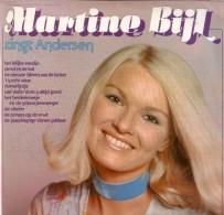 * LP *  MARTINE BIJL ZINGT ANDERSEN (Holland 1975 EX-!!!) - Vinyl Records