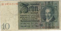 10 Mark 1929 - 50 Reichsmark