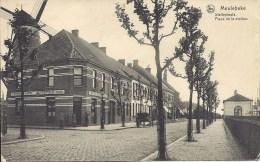 MEULEBEKE - Statieplaats - Place De La Station - Molen - Moulin - Meulebeke