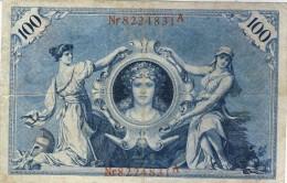 100 Mark 1908 - 50 Reichsmark