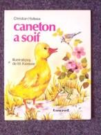 LIVRE pour enfants 1974: CANETON A SOIF - Illustrations KEREVER - Collection Premiers Pas