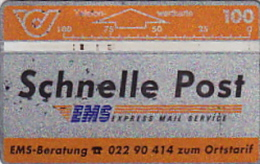 Telefonkarte Österreich  Geb. ANK 24/102E  Schnelle Post - Oesterreich