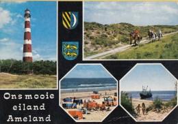Vuurtoren/Leuchtturm/Ligh Thouse - Ameland(Nederland) – Gebruikt/beschreven - Vuurtorens