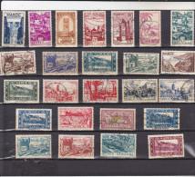 MAROC : Lot De 25 Timbres Oblitérés - Maroc (1891-1956)