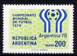 ARGENTINA 1978 Football World Cup Symbol MNH / **.  Sc. 1179 - Argentina